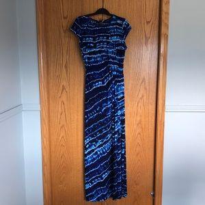 Laura maxi cap sleeve dress